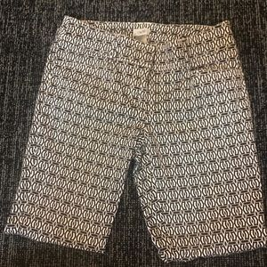 Cache Jeans - Cache Straight Leg Geometrical Jeans